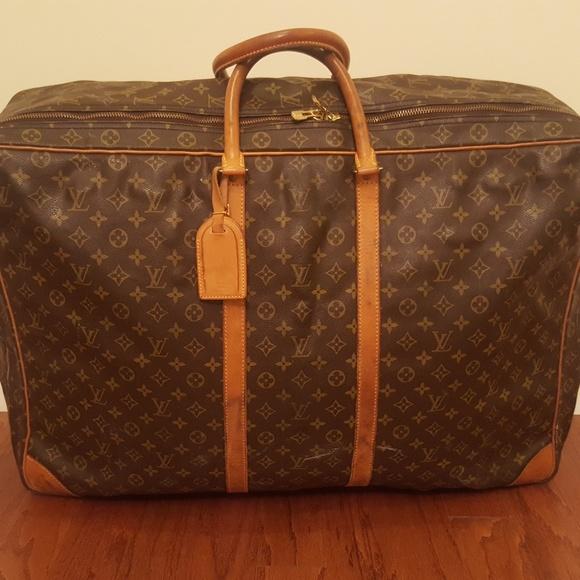 e39f716c9fbc Louis Vuitton Handbags - Vintage Louis Vuitton Sirius Soft Side Suitcase